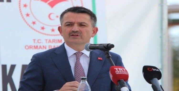 """Bakan Pakdemirli: """"Pancar şekeri satışında 2018 - 2019 yılında yüzde 14 artış sağlandı"""""""
