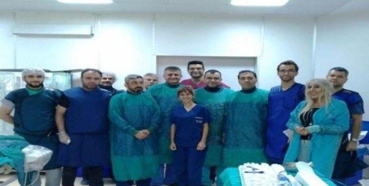 Gaziantap'ten gelip Malatya'da sağlığına kavuştu