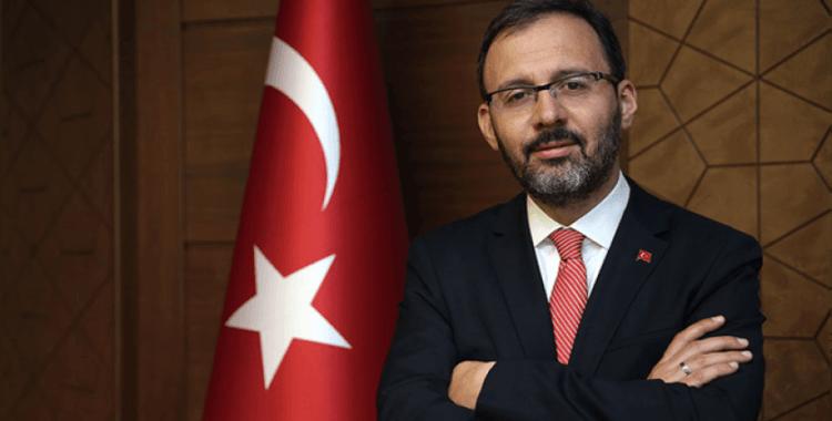 """Bakan Kasapoğlu: """"Başarılar Galatasaray, yolun sonu İstanbul"""""""