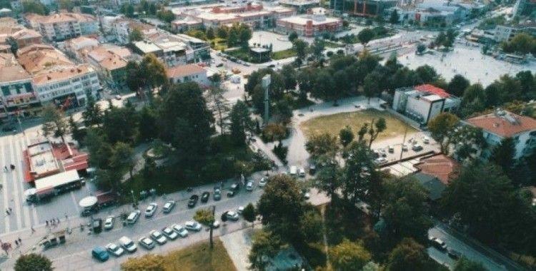 Düzce'de Millet Bahçesi 1. etap projesi hazırlandı