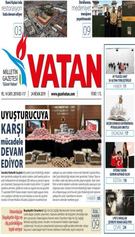 Güzel Vatan Gazetesi sayı:116