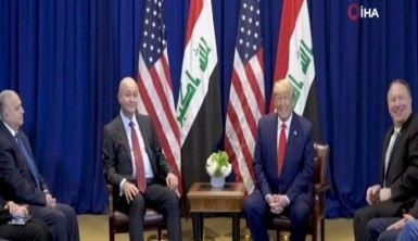 Irak Cumhurbaşkanı Salih, Trump'la görüştü