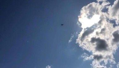 Tarihi Sultanahmet Meydanı'nda polisten drone ile anons