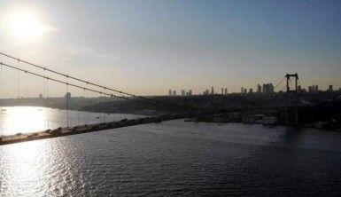 15 Temmuz Şehitler Köprüsü deprem sonrası havadan görüntülendi