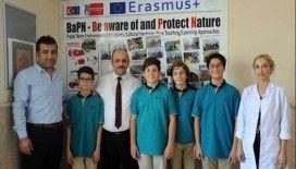 İmam hatip lisesinden Erasmus projelerinde gururlandıran başarı