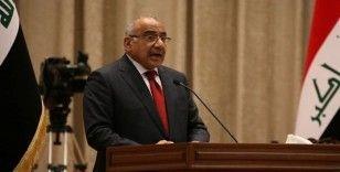 """Irak Başbakanı Abdülmehdi: """"Her an savaş çıkabilir"""""""