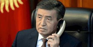 Kırgızistan Devlet Başkanı Ceenbekov'dan Çin'e kutlama mesajı