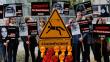 Berlin'de Kaşıkçı cinayeti protestosu