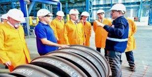 Savunma Sanayii Başkanlığı heyeti KARDEMİR'de inceleme yaptı