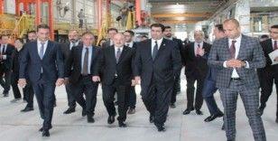 Bakan Varank, Kuveyt Ticari ve Sanayi Bakanı el-Roudan'a ASO 1. OSB'yi gezdirdi