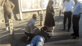 Şişli'de insanlık ölmemiş dedirten görüntü