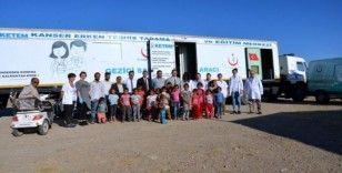 Çadır kentte yaşayan tarım işçilerine kapsamlı 'sağlık taraması'