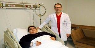 Fazla kilolarından kurtulmak için ameliyat oldu