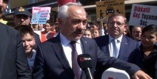 İçişleri Bakanı Yardımcısı Ersoy, Mamak'ta 'yayalara öncelik' etkinliğine katıldı