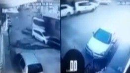 İzmir'de dehşet anları 9 aracı önüne kattı
