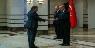 Cumhurbaşkanı Erdoğan, Slovenya Büyükelçisini kabul etti