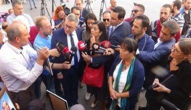 Avrupa Konseyi HDP binası önünde eylem yapan ailelere ziyaret etti