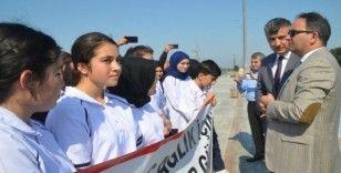 Bafra'da 'Dünya Yürüyüş Günü'nde 10 bin adım attılar