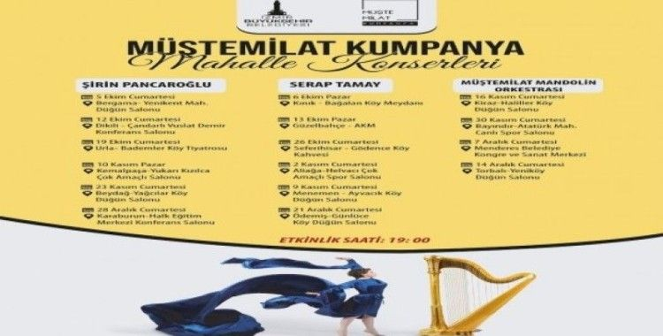Müştemilat Kumpanya'nın mahalle konserleri başlıyor
