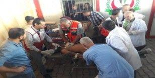 Gazze'de 1 Filistinli öldü, 40 kişi yaralandı