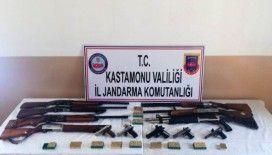 Kastamonu'da silah ve uyuşturucu operasyonu: 2 gözaltı