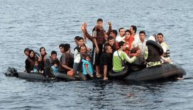 Ayvalık'ta 35 düzensiz göçmen yakalandı
