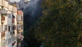 Trabzon İl Sağlık Müdürlüğü binasında çıkan yangın korkuttu