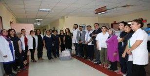 Ceylan Karavil Park AVM ailesi hastaları unutmadı