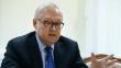 """Rusya Dışişleri Bakan Yardımcısı Ryabkov: """"Küba'da orta menzilli füze konusu konuşulmadı"""""""