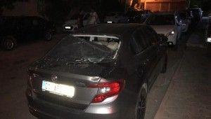 İkinci kattan otomobil üzerine düşen kadın ağır yaralandı