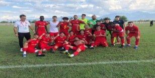 Kayserispor U19 takımı 3 hafta sonra kazandı