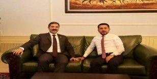AK Parti milletvekili Sırakaya, Nevşehir Belediyesini ziyaret etti