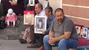 HDP önündeki ailelerin evlat nöbeti 35'inci gününde
