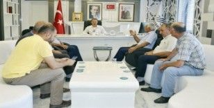 Başkan Kılınç, Türkiye Petrolleri Mahallesi sakinlerini ağırladı