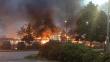 İsveç'te 28 araba yakıldı