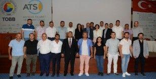 Yapı müteahhitleri bilgilendirme toplantısı ATSO'da gerçekleşti