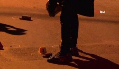 Maltepe'de iki grup arasında çıkan silahlı çatışma kamerada