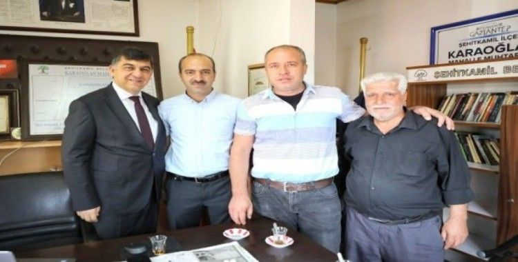 Başkan Fadıloğlu, 9 mahalle muhtarını ziyaret etti