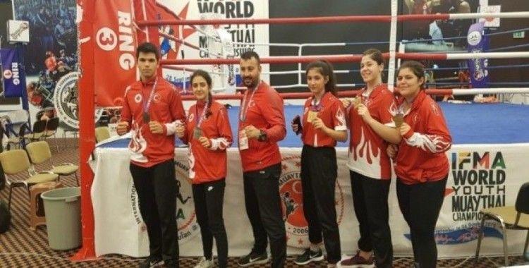 Dünya şampiyonlarından Tütüncü'ye teşekkür