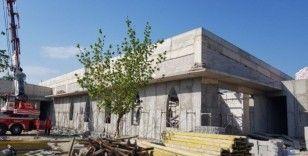 Uzuntarla Kültür Merkezi'nin kaba inşaatı tamamlandı