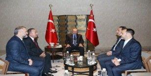 Cumhurbaşkanı Erdoğan, Ticaret Turizm ve Telekomünikasyon Bakanı Ljajic'i kabul etti