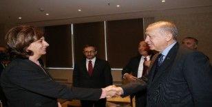 Cumhurbaşkanı Erdoğan, belediye başkanlarını kabul etti