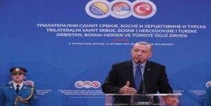 """Erdoğan: """"Saraybosna-Belgrad otoyolu bölgeyi çekim alanı haline getirecek"""""""