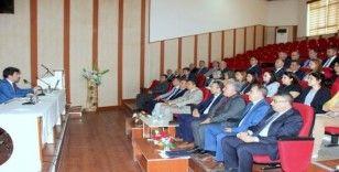 Akademik ve İdari Birim Yöneticileriyle değerlendirme toplantısı yapıldı