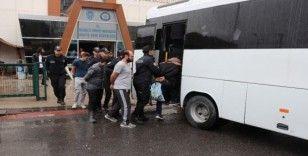 Kuş serisi otomobillere dadanan 11 kişilik çete Kocaeli'de çökertildi