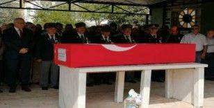 Salihli'de Kıbrıs gazisine son görev