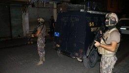Adana merkezli 5 ilde dev çete operasyonu 74 gözaltı kararı
