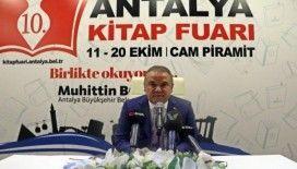 Antalya Kitap Fuarı 'Birlikte okuyoruz' sloganıyla kapılarını ziyarete açıyor