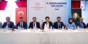 İzmir'de Halk Sağlığı Hizmetleri Değerlendirme Toplantısı