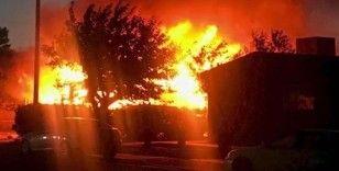 Kaliforniya'da korkutan yangın